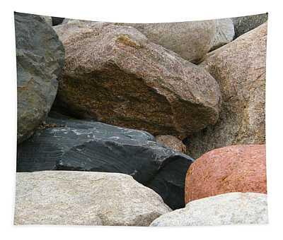 Rocks In Various Colors Tapestry