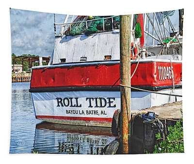 Roll Tide Stern Tapestry