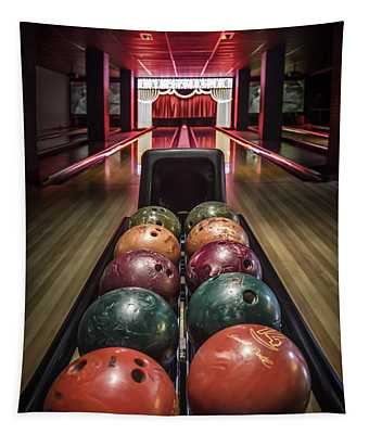 Bowling Ball Wall Tapestries