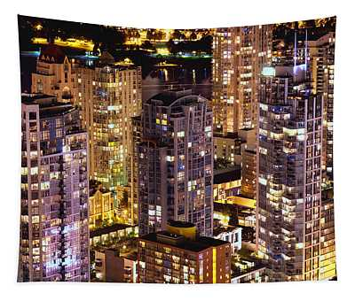 Romantic Yaletown Vancouver Canada Mcdxxxi Tapestry