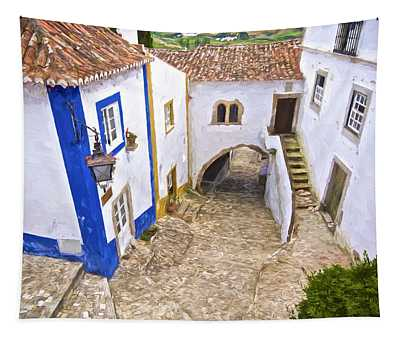Romantic Obidos Tapestry
