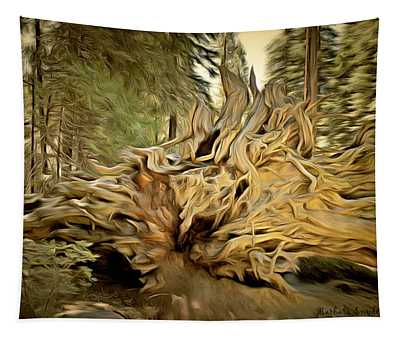 Trail Of 100 Giants Wall Tapestries