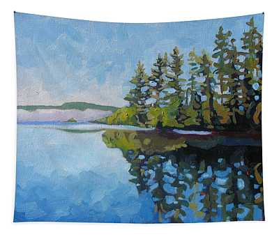 Round Lake Mirror Tapestry