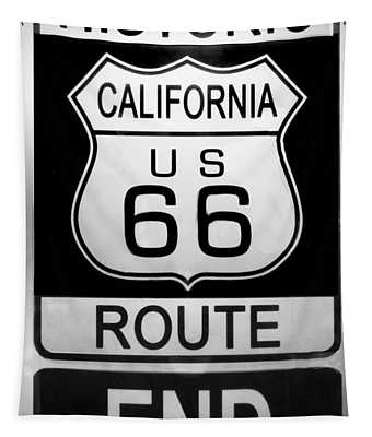 Route 66 End Tapestry