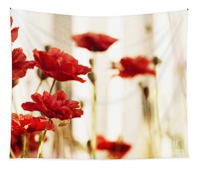 Ruby Reds Tapestry