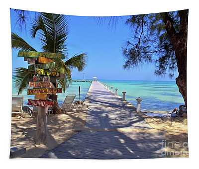 Indonesia Photographs Wall Tapestries