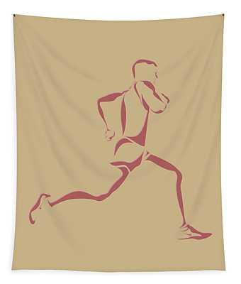 Running Runner14 Tapestry