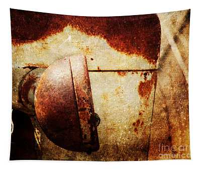 Rusty Headlamp Tapestry