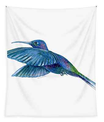 Sabrewing Hummingbird Tapestry