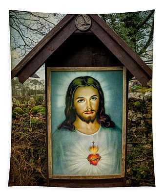 Sacred Heart Of Jesus Tapestry