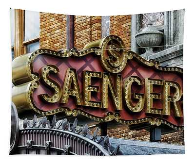 Saenger Theatre - Mobile Alabama Tapestry