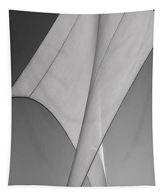 Sailcloth Abstract Number 3 Tapestry
