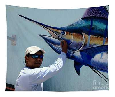 Sailfish Splash Park 3 Tapestry