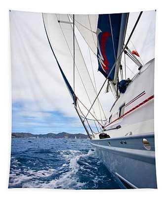 Sailing Bvi Tapestry