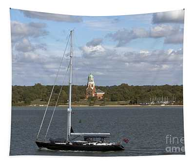 Sailing Past Netley Tapestry