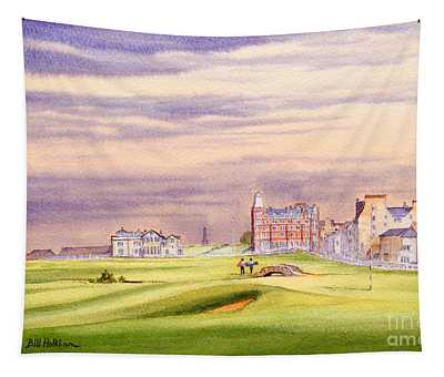 Saint Andrews Golf Course Scotland - 17th Green Tapestry