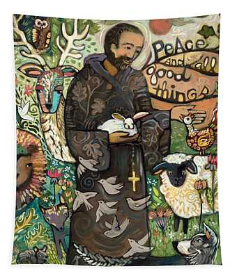 Saint Francis Tapestry