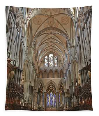 Salisbury Cathedral Quire And High Altar Tapestry