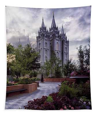 Salt Lake Temple Tapestry