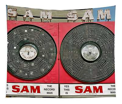 Sam The Record Man Tapestry