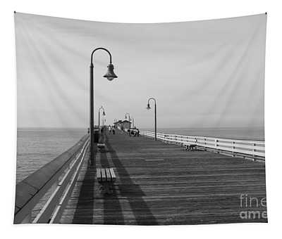 San Clemente Pier Tapestry