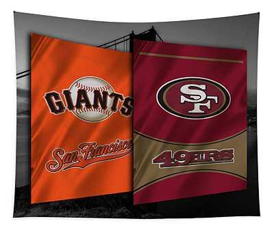 San Francisco Sports Teams Tapestry