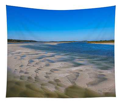 Sandbars On The Fort George River Tapestry
