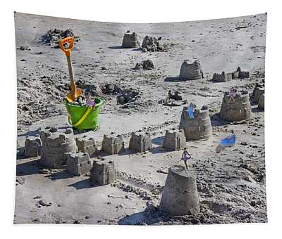 Sandcastle Squatters Tapestry