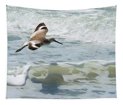 Sandpiper Flight Tapestry