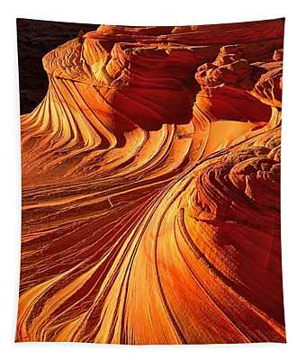 Sandstone Silhouette Tapestry