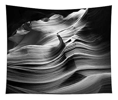 Sandstone Wave Tapestry