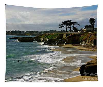 Santa Cruz Beach Tapestry