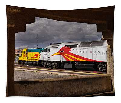 Santa Fe Train Tapestry