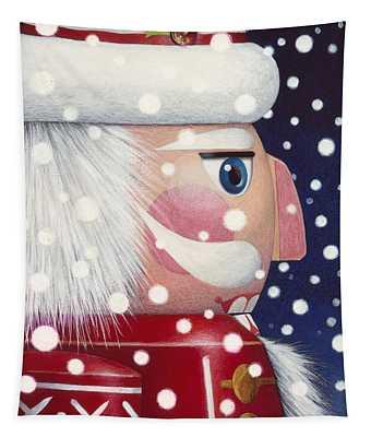 Santa Nutcracker Tapestry