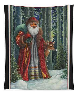 Santa's Journey Tapestry