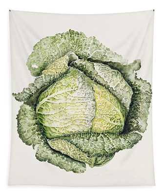 Savoy Cabbage  Tapestry