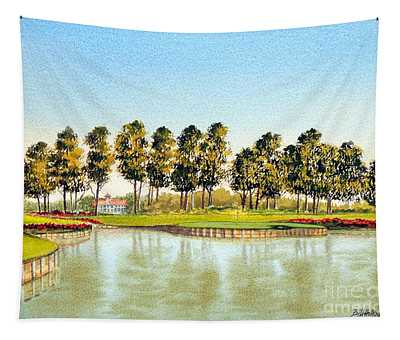 Sawgrass Tpc Golf Course 17th Hole Tapestry