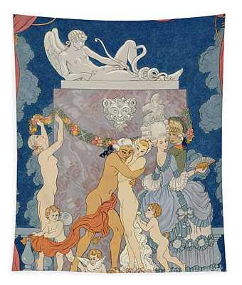 Scene From 'les Liaisons Dangereuses'  Tapestry