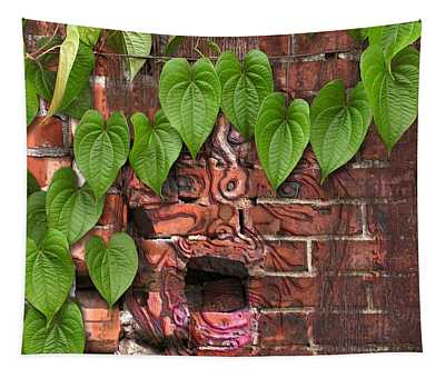 Screaming Wall Tapestry