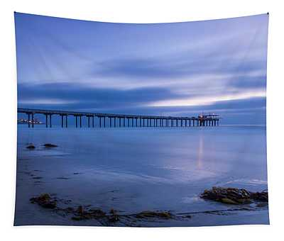 Scripps Pier Twilight - Color Tapestry