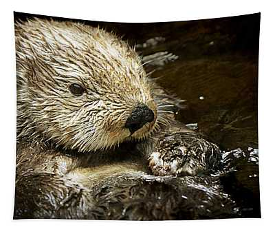 Sea Otter Tapestry