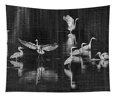 Seabeck Herons Tapestry
