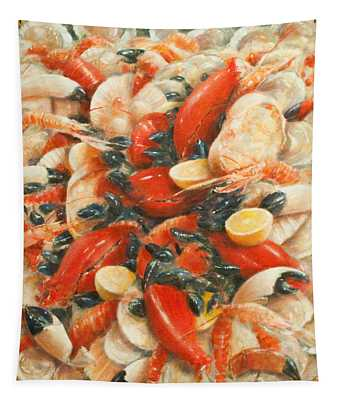 Seafood Extravaganza Tapestry