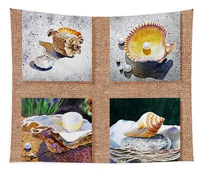 Seashell Collection I Tapestry