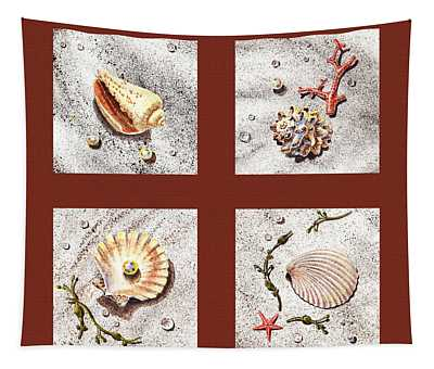 Seashell Collection Iv Tapestry