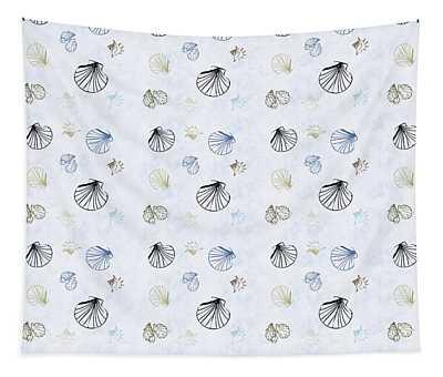 Seashell Pattern Tapestry