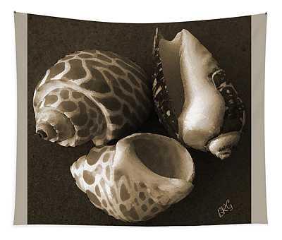 Seashells Spectacular No 1 Tapestry