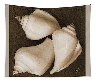 Seashells Spectacular No 4 Tapestry