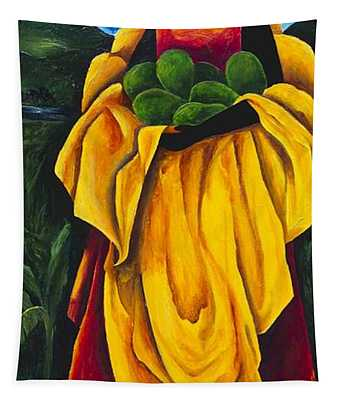 Season Avocado Tapestry