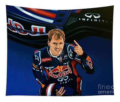 Sebastian Vettel Tapestry